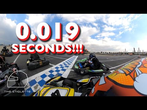 The closest finish i've ever seen!   calspeed karting sprint series sportivo