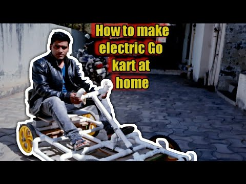 How to make electric go kart at home | electric car using pvc pipe | diy go kart |pearl engineering