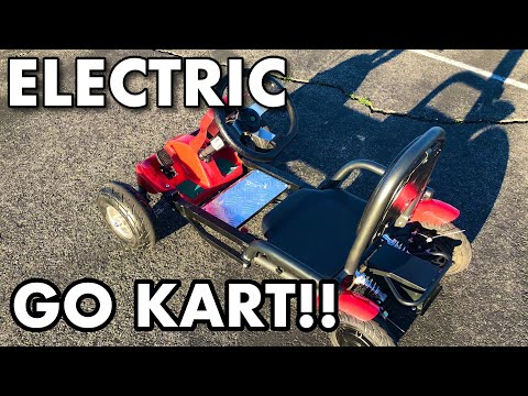 Electric go kart: 20mph and folds in half!!!