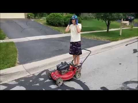 Building a go kart from a used $30 lawnmower