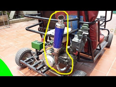 How to make a go kart at home - part 13