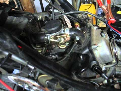 50cc gy6 starting and then dying.