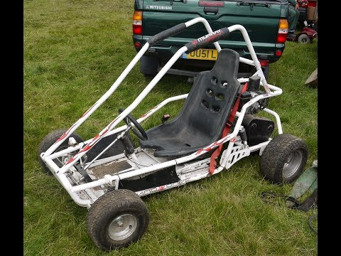 How to build a gokart with a lawn mower engine! pt. 1