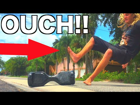 Segway self balancing scooter accident!! warning!! blood.   joogsquad ppjt