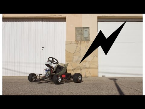 Building an electric go kart with a car alternator, from gas to electric! (full conversion build) p8