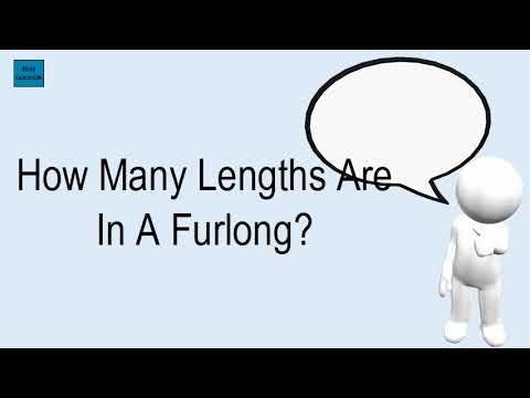 How many lengths are in a furlong?