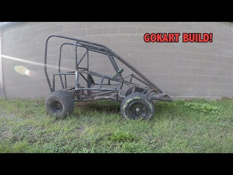 How to build a gokart with a lawnmower engine pt.2