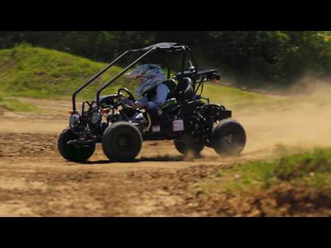 Gk 110cc tao motor features the new gk 110cc go kart commercial