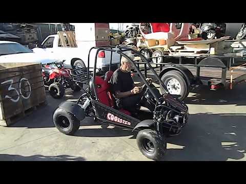 Go karts for kids - coolster gk-6125 125cc youth go carts for sale