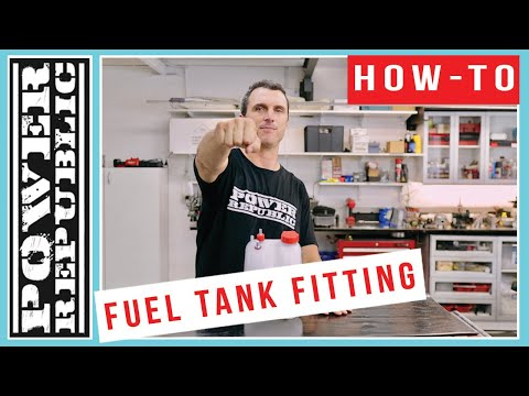 How to: install a go kart fuel tank fitting - power republic