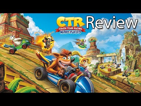 Crash team racing nitro-fueled xbox one x gameplay review