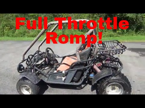 Atv stalls, troubleshooting and fix, romping hammerhead off road go cart,