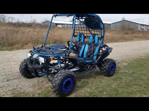 Pathfinder 200cc go kart in stock now test drive and review